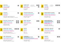 2012. Program izdanja postanskih maraka