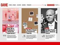 DAME digital magazine