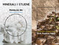 Minerals and Rocks - Rhyolite & Sea salt