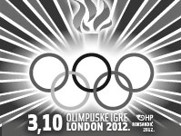 Olimpijske igre London 2012 post stamp
