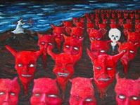 Napad na horde zla (iz kuta)